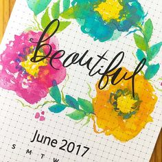 Download the Life is Beautiful Planner Page. Free to subscribers.