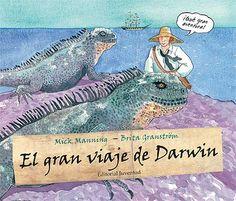 La gran aventura del viaje del barco de la marina real Beagle a través de todos los océanos. El joven Darwin es invitado por el capitán Fitz Roy a compartir su cabina como naturalista sin paga. De las experiencias de este fantástico viaje surgirá su libro titulado El origen de las especies. A partir de 7 años. EN NUESTRA BIBLIOTECA