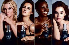 Kate Winslet, Penélope Cruz, Lupita Nyong'o e Lily Collins (Foto: Reprodução)