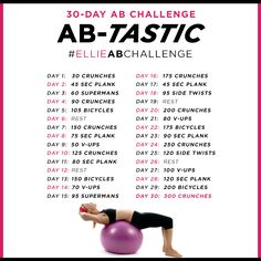 30 Day Ab Challenge! #abs #challenge #workout
