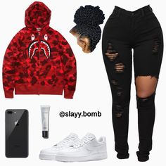 Nike Outfits, Swag Outfits For Girls, Cute Outfits For School, Teenage Girl Outfits, Cute Swag Outfits, Teen Fashion Outfits, Look Fashion, Trendy Outfits, Fashion 2016