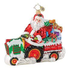 Image detail for -Christopher Radko Christmas Ornament - Holiday Harvest