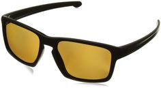 Oakley Men's Sliver OO9262-08 Polarized Rectangular Sunglasses, Matte Black, 57 mm. Perfect Buy!. Additonal Details Noted in Product Description - SEE BELOW.