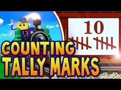 Counting Tally Marks 1-10   PicTrain™ - YouTube