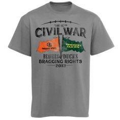 5e5c804b9 Oregon State Beavers 2013 Civil War Game T-Shirt - Gray - Oregon Football