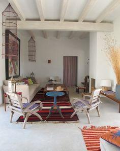 Weekend Escape: A Boho-Chic Home On Formentera