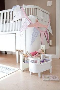 My favourite children's bed is the Danish Juno bed - I just adore the little doll bed made with the Juno bed as inspiration.