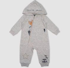 Baby Boy One-pieces : Target Star Wars Baby Clothes, Star Wars Hoodie, Baby Boy One Pieces, Baby Girl Pajamas, Bear Hoodie, Star Wars Outfits, Long Sleeve Romper, Baby Online, Baby Disney