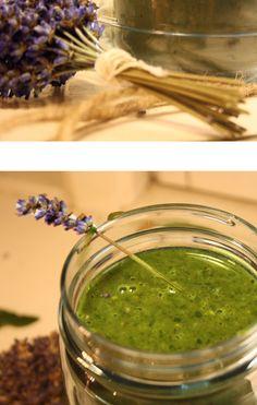 Green Smoothie w/Lavender