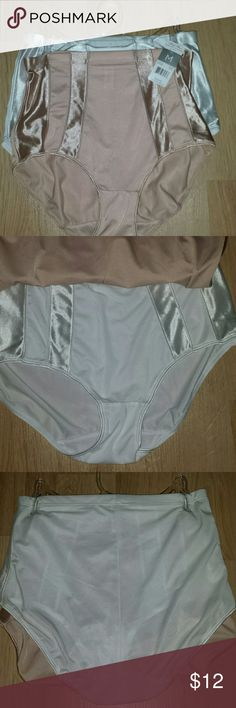 Marilyn Monroe Shaper Briefs 2 pack 2 pair shaper briefs, one white and one light nude. Purchased for a theatrical production and only one pair of the 3 pack was removed and used. Remaining 2 pair are brand new, never removed from hanger.  All proceeds from this item go directly back to the small non-profit local theater for which it was purchased. Marilyn Monroe Intimates & Sleepwear Shapewear
