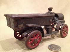 1930's Iron Open Cab Truck by TrashAngelTreasures on Etsy, $125.00