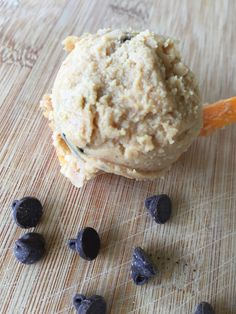 Peanut Butter Chocolate Chip Cookie Dough {THM-S, Gluten Free, Sugar Free, Dairy Free, Low Carb} – Trim Healthy Montana