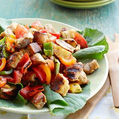 Smoky Chicken and Pepper Salad Recipe - Good Housekeeping