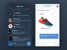 Design chat for iPhone