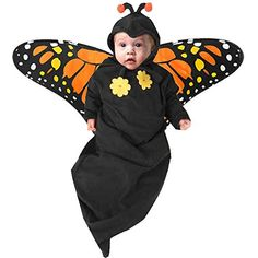 Newborn Baby Butterfly Halloween Costume 36M