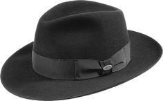"MAYSER ""Atos"" - fur felt hat. Bogard with wide brim."