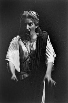 """Maria Callas as Norma in the opera """"Norma"""""""