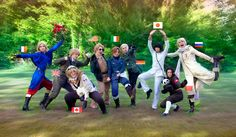 Hetalia - Group Cosplay (probably the same people from this video: http://youtu.be/quhk6LGzGt0 )
