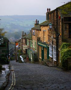 Haworth West Yorkshire by Phil King Yorkshire England, West Yorkshire, Yorkshire Dales, Cornwall England, Places To Travel, Places To See, Beautiful World, Beautiful Places, English Countryside