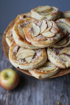 Almond Cream- Apple Tart  foodfashionparty 
