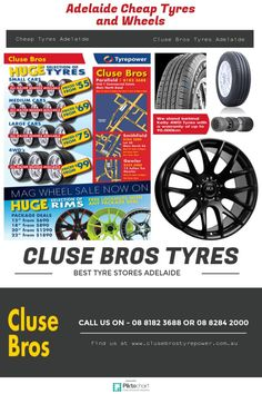 This info graphics can be helpful for you in finding #CheapTyresAdelaide. http://www.clusebrostyrepower.com.au/cheap-tyres-adelaide