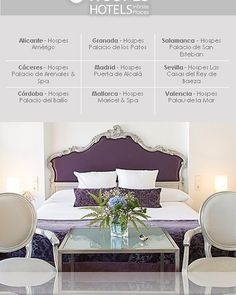 Elegance, design and history in perfect harmony with its environment: www.hospes.com/en/ourhotels/ #Alicante #Cáceres #Córdoba #Granada #Madrid #Mallorca #Salamanca #Sevilla #Valencia #hotel #Spain #luxury