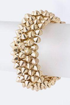 'Emily' Spike Bracelet from Shop Belina