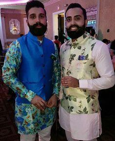 Indian Men Fashion, New Mens Fashion, Suit Fashion, Kurta Pajama Men, Kurta Men, Groomsmen Outfits, Groom Outfit, Punjabi Men, Mens Ethnic Wear