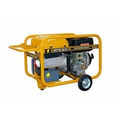 Motosoldadora generador Benza WGTYDS 220 DC La Motosoldadora-generador Benza WGTYDS 220 DC está fabricado con motor Yanmar L100 10 HP - Cilindrada = 435 cc  - Arranque = Eléctrico - Depósito combustible 16 Ltrs. Peso 131,4 kg.