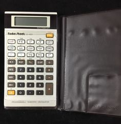 Radio Shack EC-4021 Calculator Progammable Scientific Vintage Case Working 1991 #RadioShack