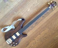 1986 Fretless Ibanez Musician Bass | Reverb