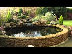Ponds and Water Features by Mark Wilson | Any Pond Limited | UK - YouTube Small Fish Pond, Small Ponds, Backyard Water Feature, Ponds Backyard, Outdoor Fish Ponds, Garden Ponds, Koi Ponds, Pond Landscaping, Landscaping With Rocks