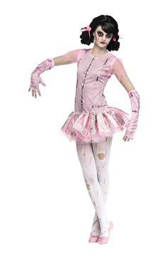 girls zombie ballerina costume child halloween costumes at escapade - Halloween Ballet Costumes