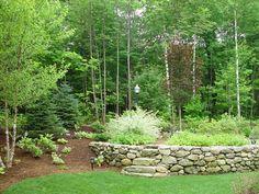 Greening Complete Landscape Rocks Design