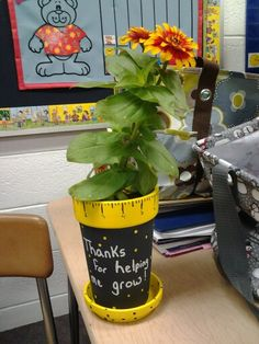 Grant and I made for his 1st grade teachers last day of school gift!