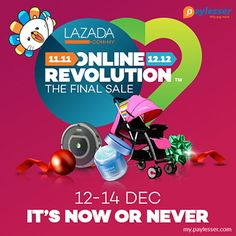 68200238e61 Lazada 12.12 Online Sale – Shop at Lazada and get up to 80% discount on all  products. Why pay more   Lazada  Offer  1212sale  LZDMYRevoulution   Paylesser