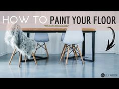 LEARN to paint your floor. With this descriptive DIY tutorial you'll have your floor painted to it's highest durability. I show how I painted my Laminate floor not once but TWICE. Learn from my mistakes and paint your tile, wood, or linoleum floors.