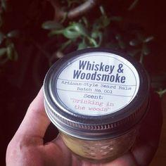 Whiskey & Woodsmoke beard balm.