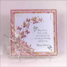 Dies by Chloe - Butterfly Arch Die - - Dies by Chloe - Chloes Creative Cards Card Making Inspiration, Making Ideas, Chloes Creative Cards, Stamps By Chloe, Crafters Companion Cards, Parchment Cards, Birthday Blessings, Birthday Cards For Women, Butterfly Cards
