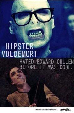 hipster voldemort. lol