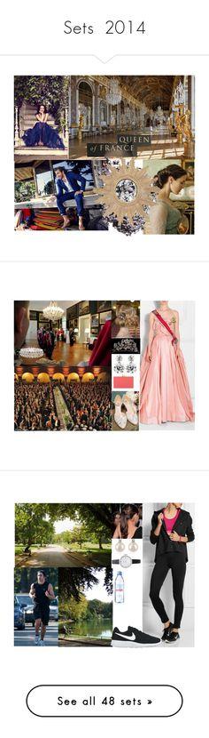 """Sets  2014"" by otma-cc ❤ liked on Polyvore featuring art, Reception, Carolina Herrera, Charlotte Olympia, NIKE, Kate Spade, Forzieri, Evian, Jil Sander and Tiffany & Co."