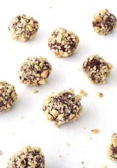 Nutella Hazelnut Chocolate Truffles