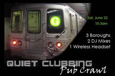 Subway Pub Crawl NYC - June 22 - Use Our Promo Code ~ drink ~ and buy tickets now!