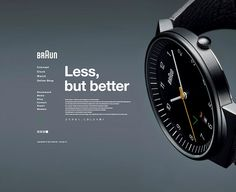 I randomly came across this Japanese version of Braun's website the other day and was super impressed by the cleanliness and simplicity of it. Letting the images really speak for themselves, …