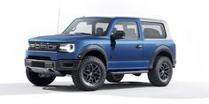 Thoughts on thos Bronco rendering? - Thoughts on thos Bronco rendering? Ford Bronco, New Bronco, Bronco Car, Porsche, Audi, Maserati Granturismo, Funny Car Memes, Car Humor, Funny Cars