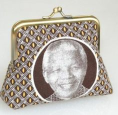 Thunga Shweshwe purse - Madiba Magic!
