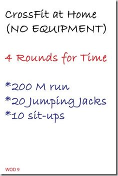 Crossfit Additions and new WODs