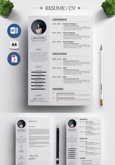 Cv Resume Template, Resume Design Template, Resume Tips, Resume Cv, Web Design, Modern Design, Resume References, Cv Words, Marketing Resume