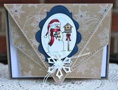 Sweet 'n Sassy Stamps: Fabulous Folds and Snowflake Flourish stamps