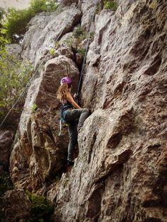 Rock climbing #dreadlocks